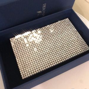🆕NEW💥100%Authentic Swarovski Crystal Card holder